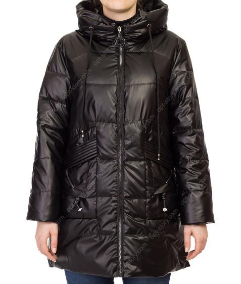 F676# чёрн Куртка женская S-2XL по 5