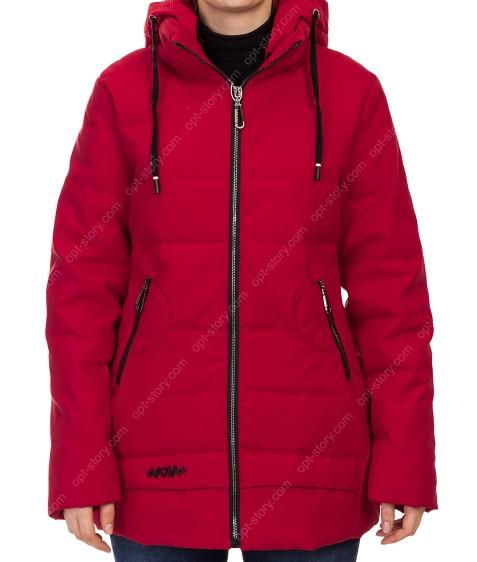 H919# красн Куртка женская 50-58 по 5