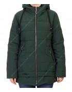 H919# т.зел Куртка женская 50-58 по 5