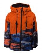 5003 оранж. Куртка мальчик 104-122 по 4