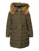 310# хаки Куртка девочка 146-170 по 5