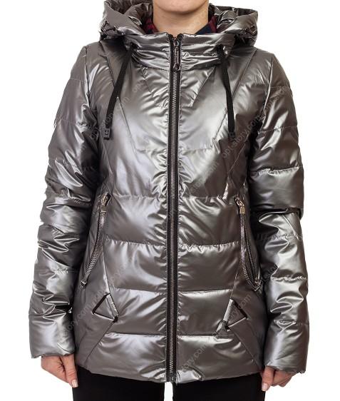 8001 сер Куртка женская S-2XL по 5