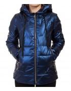8001 синий Куртка женская S-2XL по 5
