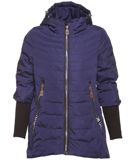 HL-21# син.Куртка девочка 140-164 по 5