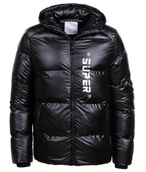 MMA-1552 черный Куртка муж M-2XL по 4