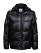 MMA-1553 черный Куртка муж S-XL по 4