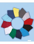 4488 Трусы боксеры мужские голубые размер L по 3 штуки