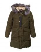 847 хаки Куртка девочка 134-158 по 5