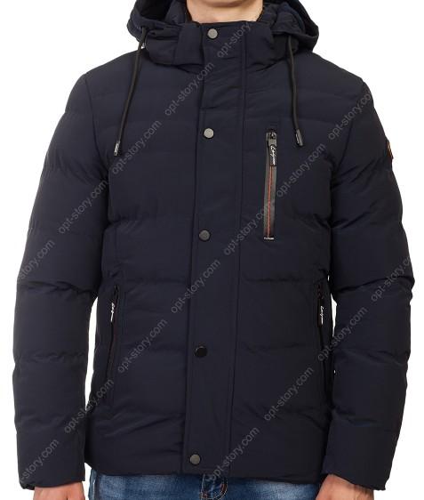 1806-G black blue Куртка мужская L-4XL по 5