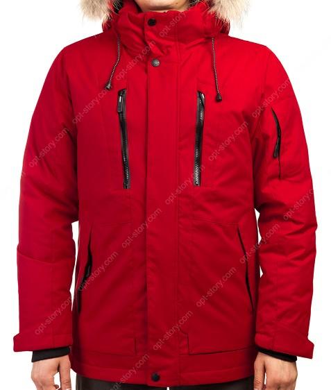 2071 красн. Куртка мужская 46-54 по 5