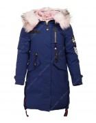 HL-905 син.Куртка девочка 140-164 по 5