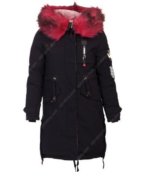 HL-905 т.син.Куртка девочка 140-164 по 5