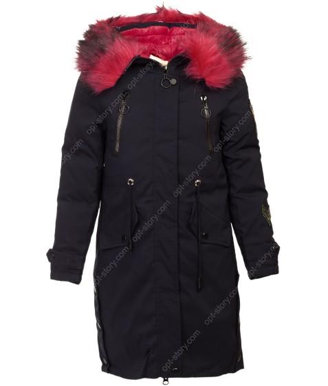 HL-920 т.син.Куртка девочка 128-152 по 5