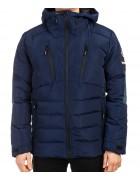 B1323 син. Куртка мужская M-2XL по 4