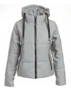 20903 серый Куртка женс. M-2XL по 4
