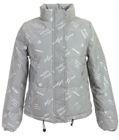 20917 серый Куртка женс. M-2XL по 4