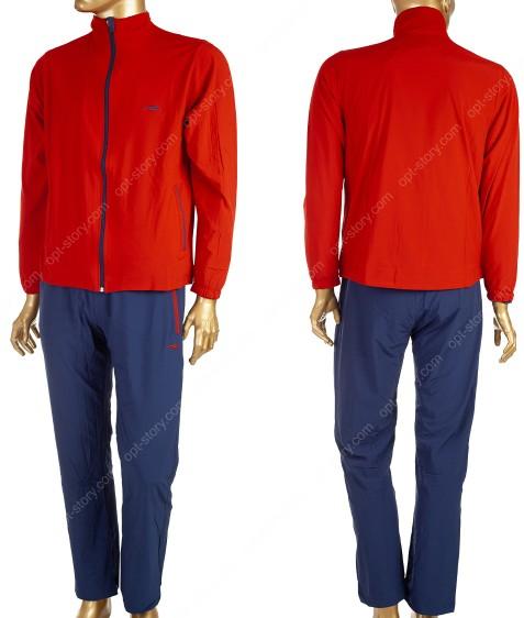 1816366 красный Сп. костюм муж. M-2XL по 4