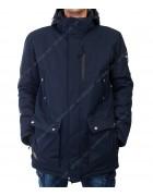 M-07/32600 т.син Куртка мужская M-3XL по 5