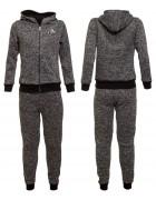 5551 серый Спорт костюм  мальчик (флис) 8-16 по 5
