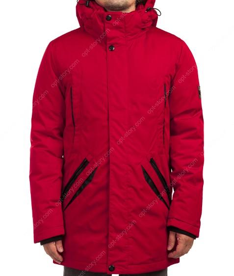 2052#5 красн. Куртка мужская 46-56 по 6(все 46р)