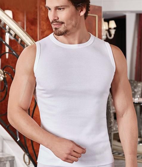 Майка мужская белая размер XL по 3 шт. арт. 1012