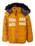 R3751 желт. Куртка мальчик 12м-36м по 5