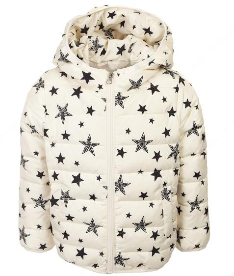 8899 Куртка девочка звезда 90-130 по 5