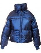 129 синий Куртка женская M-XXL по 4