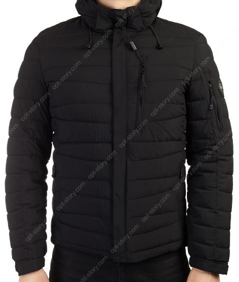 50583 черн. Куртка мужская 48-56 по 5