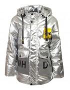 GL-02# серый Куртка дев. 116-140 по 5