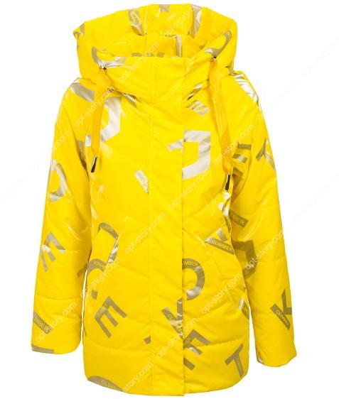 2108# желтый Куртка дев. 140-164 по 5