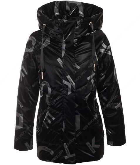 2108# черный Куртка дев. 140-164 по 5