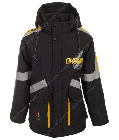 B-810# черн. Куртка маль. 122-146 по 5