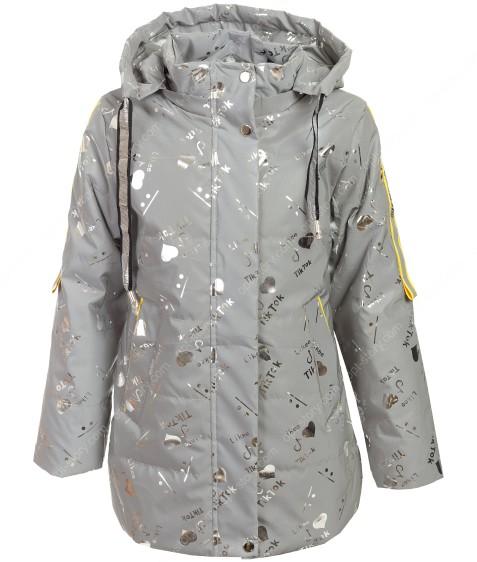 GL-05# серый Куртка дев. 116-140 по 5