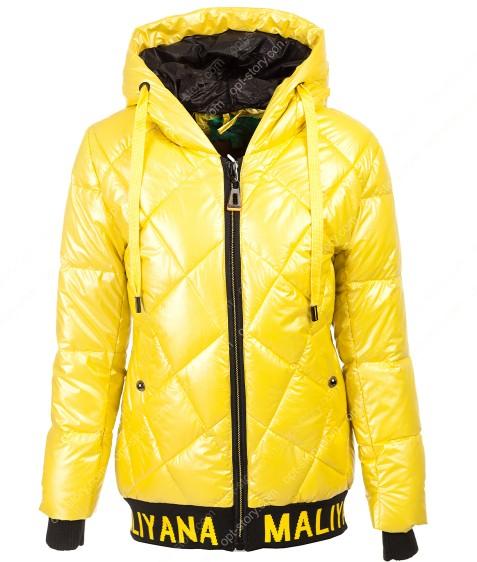 236 жел Куртка девочка 134-158 по 5