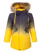 2190 желт. Куртка мальчик 134-158 по 5
