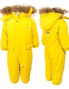 H16-02 желтый Комбенизон термо девочка 74-98 по 5
