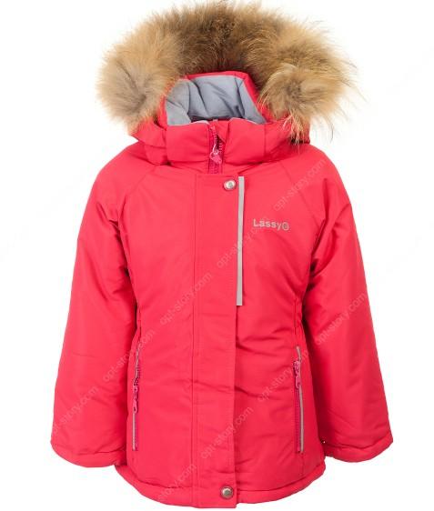 H29-02 красный Куртка девочка 92-116 по 5