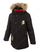 7731-1 черный Куртка маль. 122-146 по 5