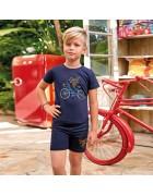 Футболка и шорты мальчик размер 7/8 по 3 шт. арт.5367