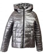 F665# сер Куртка женская S-2XL по 5