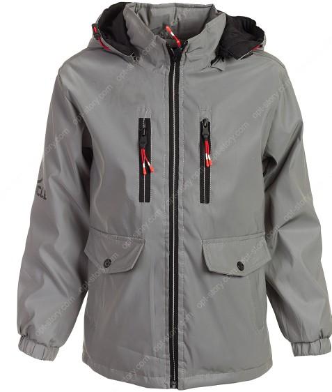 HB8278 серый Куртка мал. REFLEX  8-16 по 5