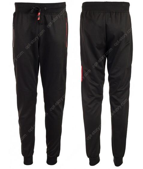 YLB88001 черный Спорт. штаны муж M-2XL по 4