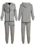 5579 серый Спорт костюм мальчик 6-16 по 6
