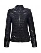 6096 Куртка женская эко-кожа S-XL 24/4