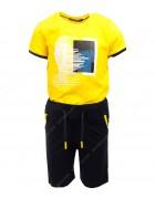 6751 желтый BAX Комплект мальчик 116-134 по 4