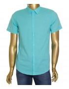 1343V-18 бир.(кор. рукав) Рубашка мужская S-XL  по 4