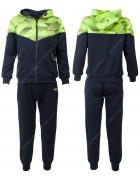 CH5730 зеленый Спорт. костюм мальчик 116-146 по 6