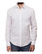 1313 white Рубашка мужская дл.рукав S-XL по 4
