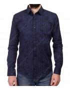 1343 V-6 Рубашка мужская дл.рукав S-XL по 4